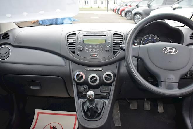 Hyundai I10 1.2 Active 5dr Image