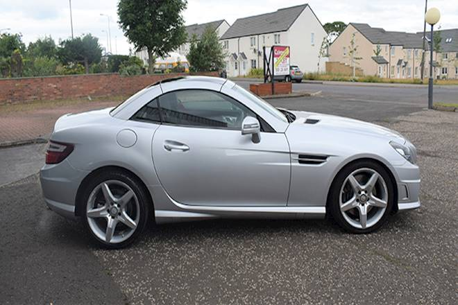 Mercedes-benz Slk SLK 250d AMG Sport 2dr Tip Auto Image